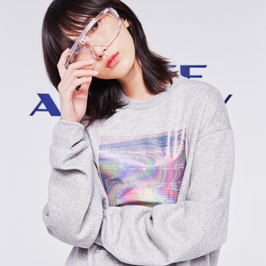 hologram sweatshirt grey