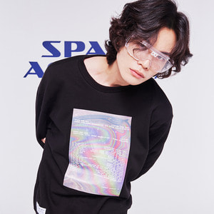 hologram sweatshirt black