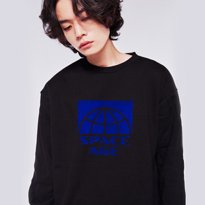 half core sweatshirt black