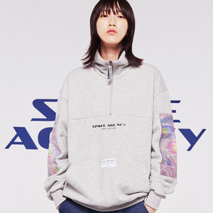 hologram anorak grey